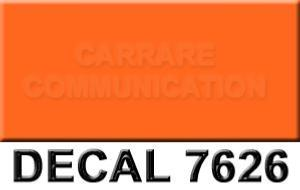 decal 7626M orange mat 20x25ml