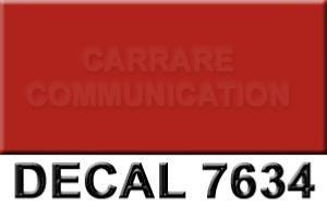 decal 7634 rouge 30x25ml